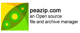 PeaZip – Open Source archive tool