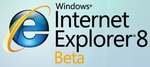 IE8 Logo Beta